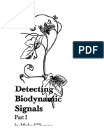 Detecting Biodynamic Signals Part-1