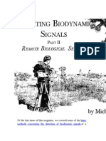 Detecting Biodynamic Signals Part-2