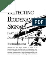 Detecting Biodynamic Signals Part-3