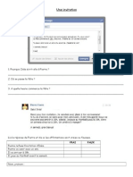 Une Invitation Sur Facebook