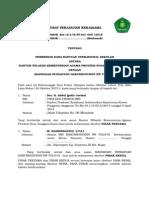 Surat Perjanjian Kerjasama Bos 2015 Mis Tolo'Oi