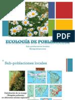 Ecología Clase 6 Crecimiento Poblacional-Intro Interacciones