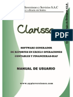 Manual Práctico - Clarissa v1.0Manual Práctico - Clarissa v1.0 AYP