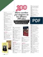 100 Libros Escritos Por Mujeres en Los Últimos 100 Años