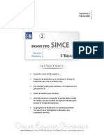 Ensayo1 Simce Matematica 5basico 2015 Forma b