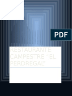 Restaurante Campestre El Pedregal