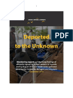 Deported to the Unkown