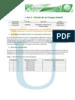 Instrucciones Act 4 Diseno de Un Tanque Imhoff PDF