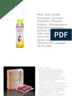Produk Herbal Fitoter