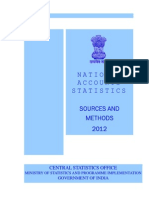 National Accounts Sources Method 2012