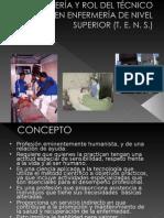 Enfermeria y Rol Del Tecnico en Enfermeria De