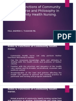 Roles & Functions of Community Health Nurse