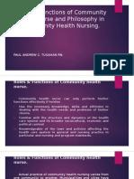 Roles & Functions of Community Health Nurse