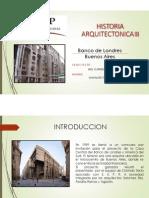 BANCO DE LONDRES EN BUENOS AIRES - ARQ. Clorindo Testa