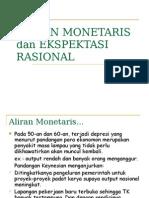 Aliran Monetaris Dan Ekspektasi Rasional Terget