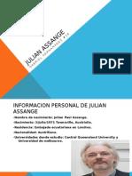 Julian Assange Huistoria