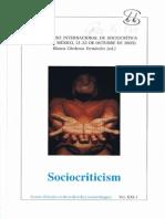 IX Congreso Internacional de Sociocrítica XXI1-2006