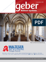 Ratgeber aus Ihrer Malteser-Apotheke – Dezember 2015