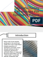 Manufacturing Processes for Synthetic Fibers