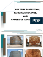 Storage Tanks Inspection, Maintenance and Failure-Api653