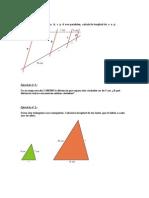 Ejercicios Geometria