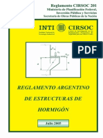 Reglamento201completo CIRSOC 201-2005 Calculo Hormigon