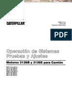 Manual Pruebas Ajustes Motores 3126b e Camion Caterpillar