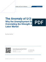 The Anomaly of U-3