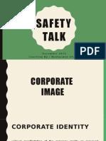 SAFTY talk