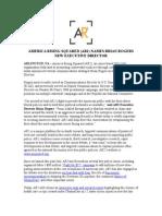 AR2 Announces Executive Director