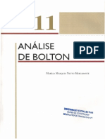 Análise de Bolton