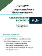 ELET0021 - Conjunto de Instrucoes PIC