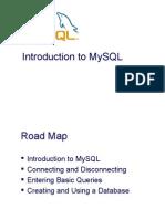 Intro to MySQL
