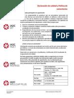 Politica IADC Rig Pass