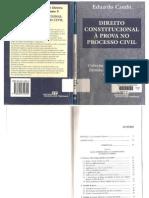 Eduardo Cambi - Direito Constitucional à Prova No Processo Civil (Coleção Temas Atuais de Direito Processual Civil, Vol. 3) (2001)