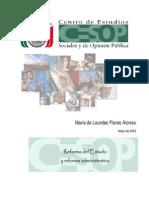 DAHC0002 Reforma Del Estado y Reforma Administrativa