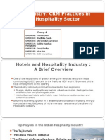 CRM Hospitality industry