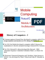 MIS6120 - Notes#2 - Mobile Computing Architecture