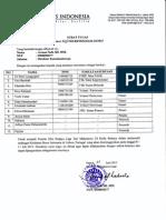 Surat Tugas Kontingen