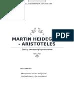 Martin Heidegger y aristoteles - etica (1)