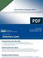 School Reform Office Presentation