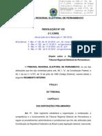 3 Regimento Interno TRE/PE