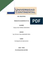 PA02 Investigación de Operaciones Robyns Torres Canchanya