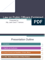Law on Public Officers Explained