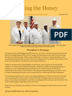 November Edition of GBA Newsletter