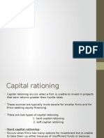 Capital Rationing Ppt