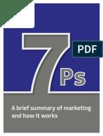 7P's Of Marketing
