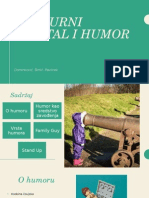Kulturni Kapital i Humor PPT