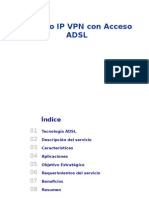 Red Ip VPN Con Acceso Adsl