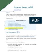 Ejemplos de Uso de Drones en GIS